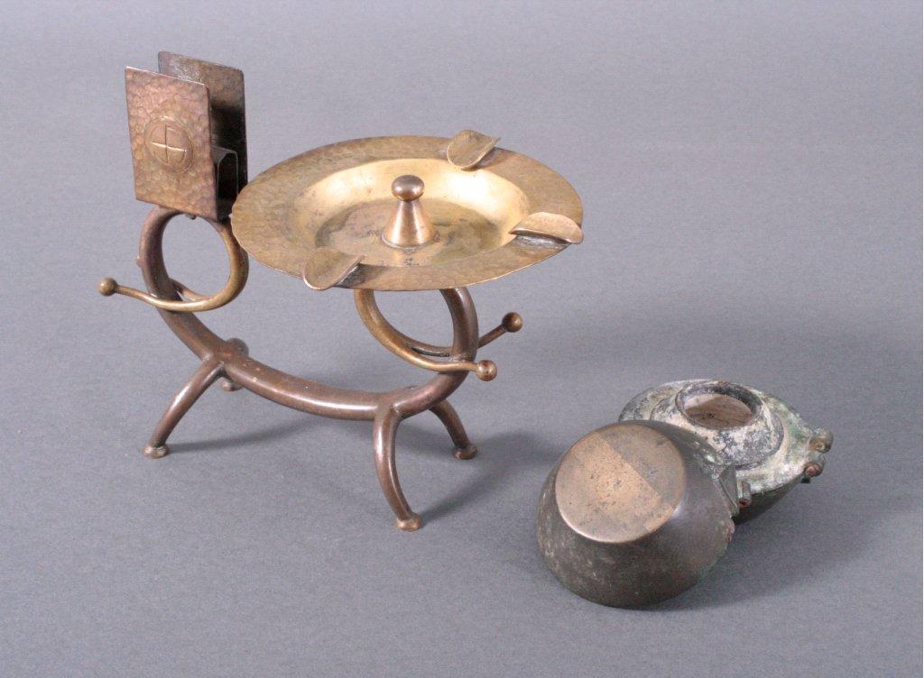 Zwei verschiedene Messing/Bronzeobjekte 19./20. Jh.