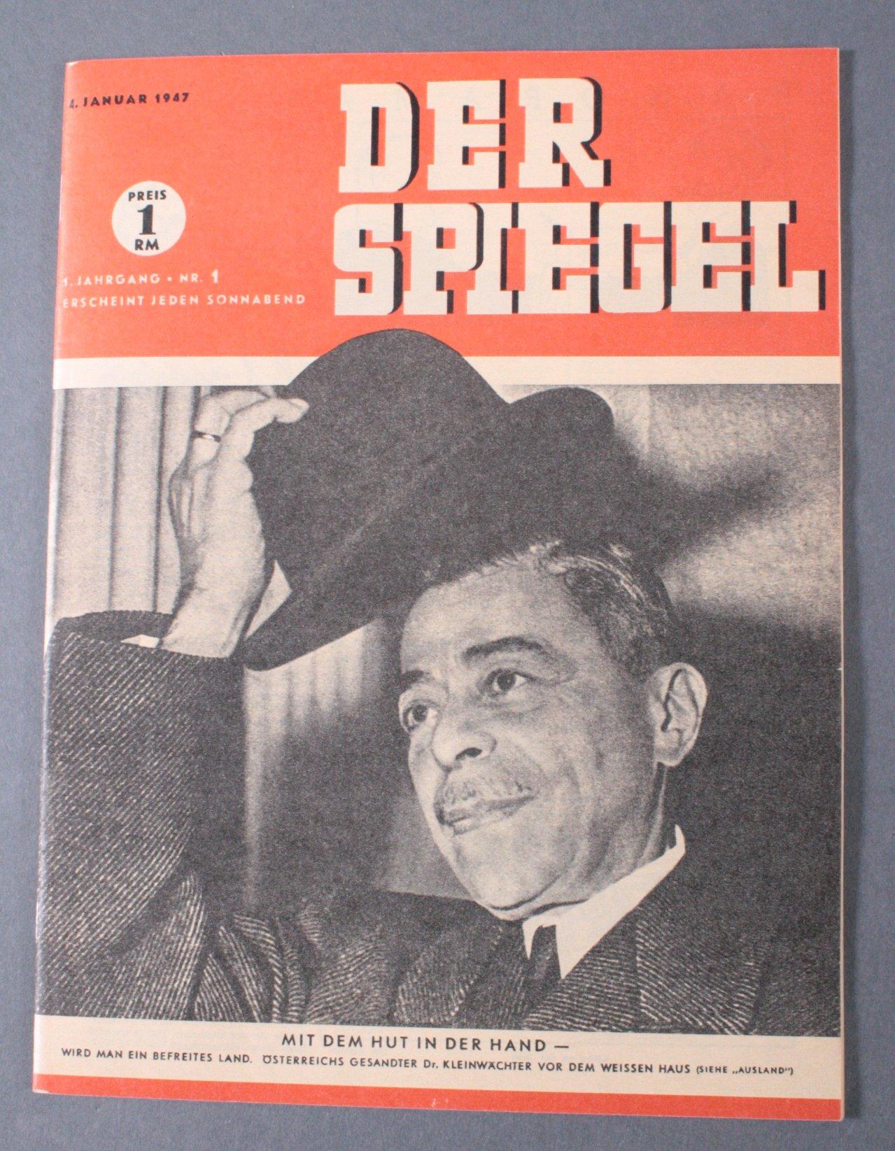 Der Spiegel Ausgabe Nr.1 / 1947, 1. Jahrgang