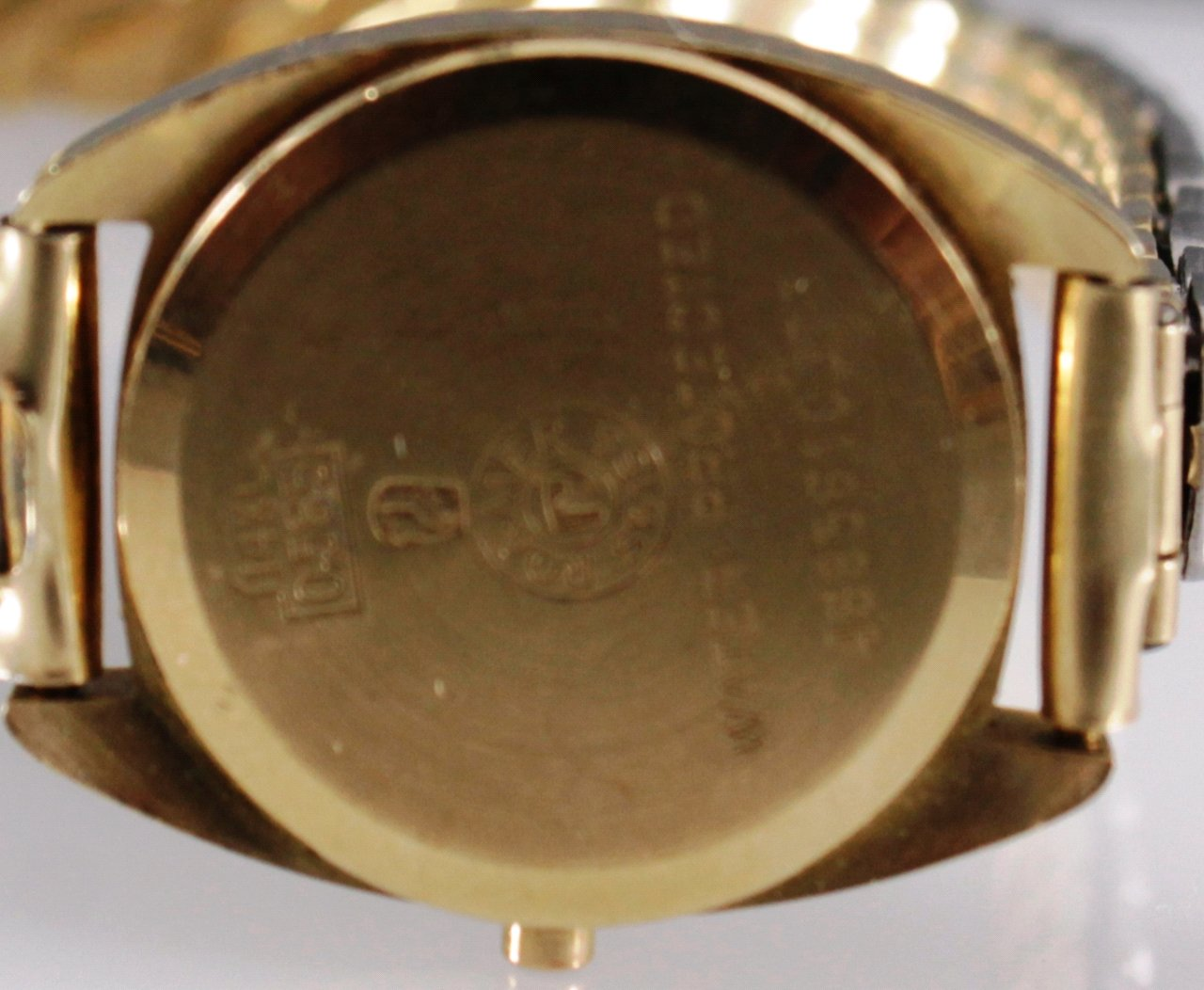 Roamer Damenarmbanduhr, 14kt Gelbgold-1
