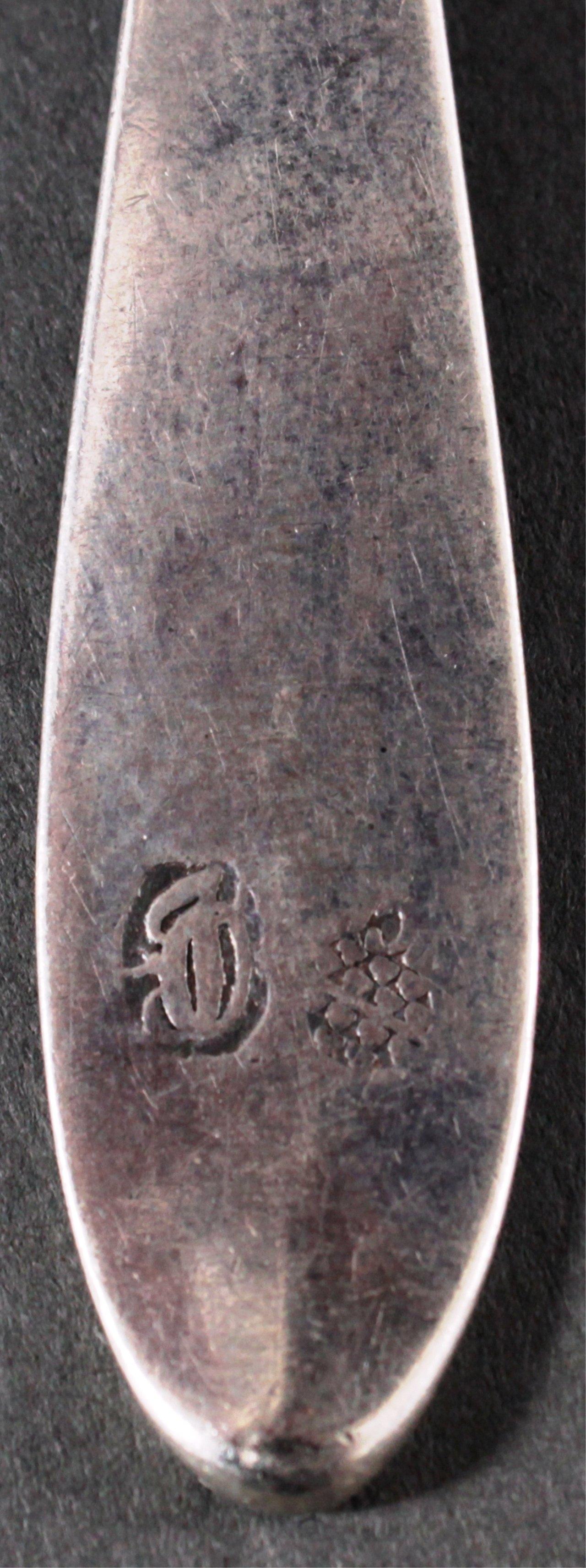 Kleines Besteckkonvolut Silber-4