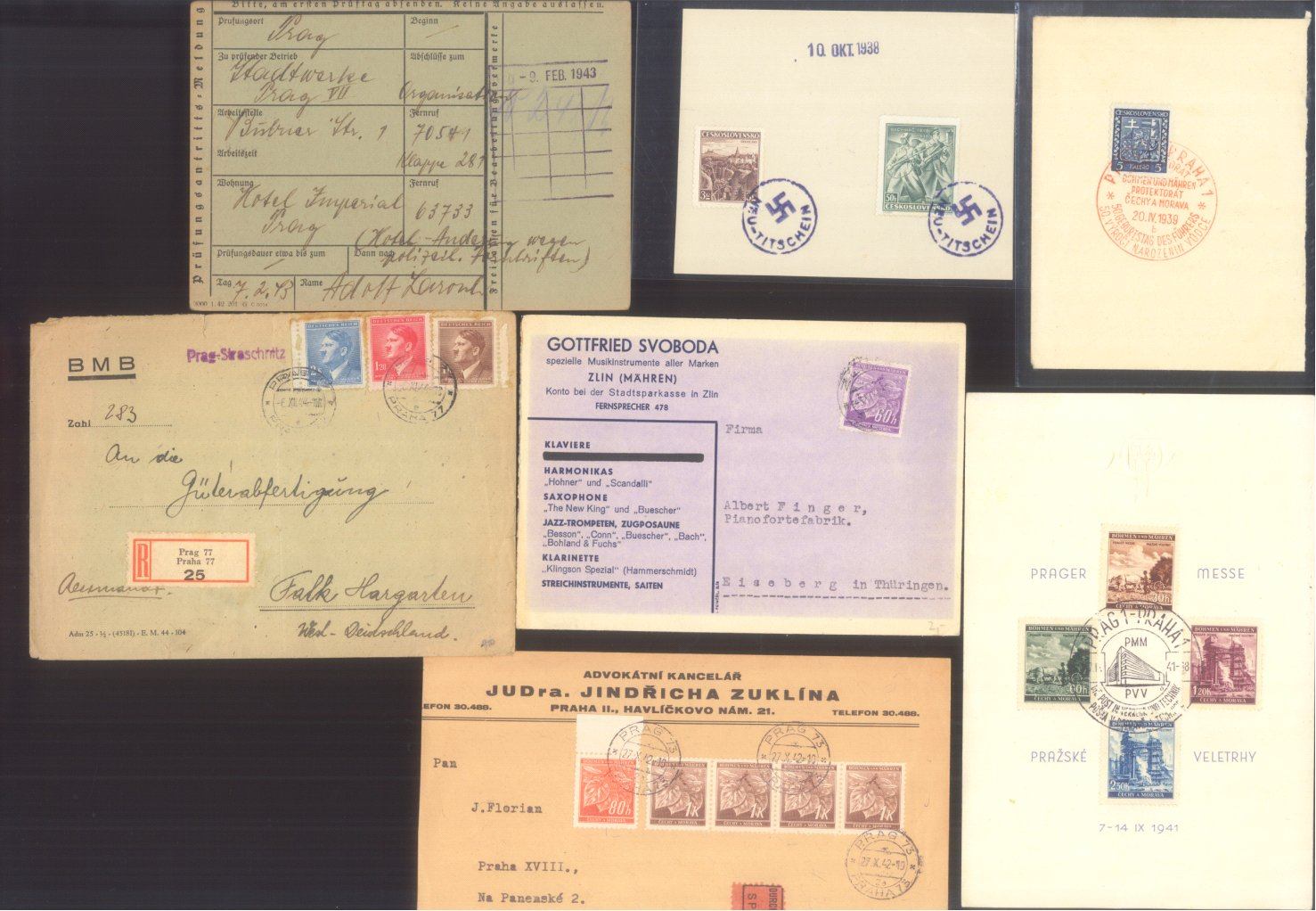 BÖHMEN und MÄHREN 1939-1944, auch Generalgouvernement-1