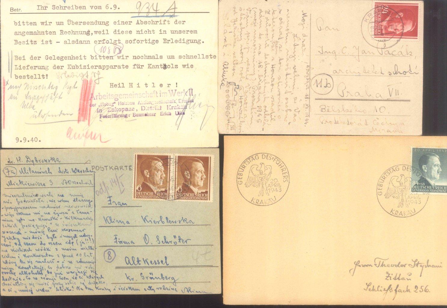 BÖHMEN und MÄHREN 1939-1944, auch Generalgouvernement-2