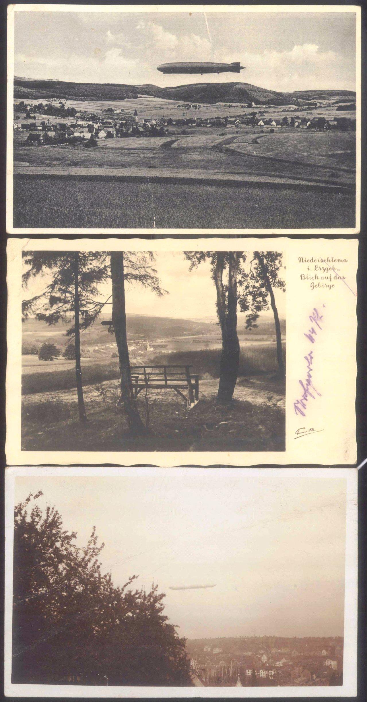 1910 ZEPPELIN LZ 6, sehr seltene Fotopostkarte! Pforzheim