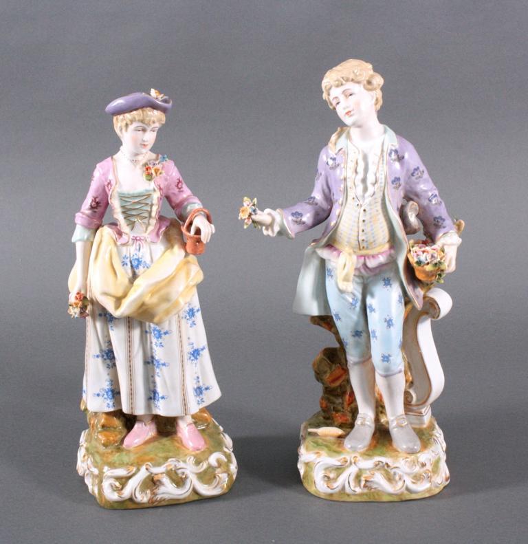Figuren-Paar im Rokoko Stil