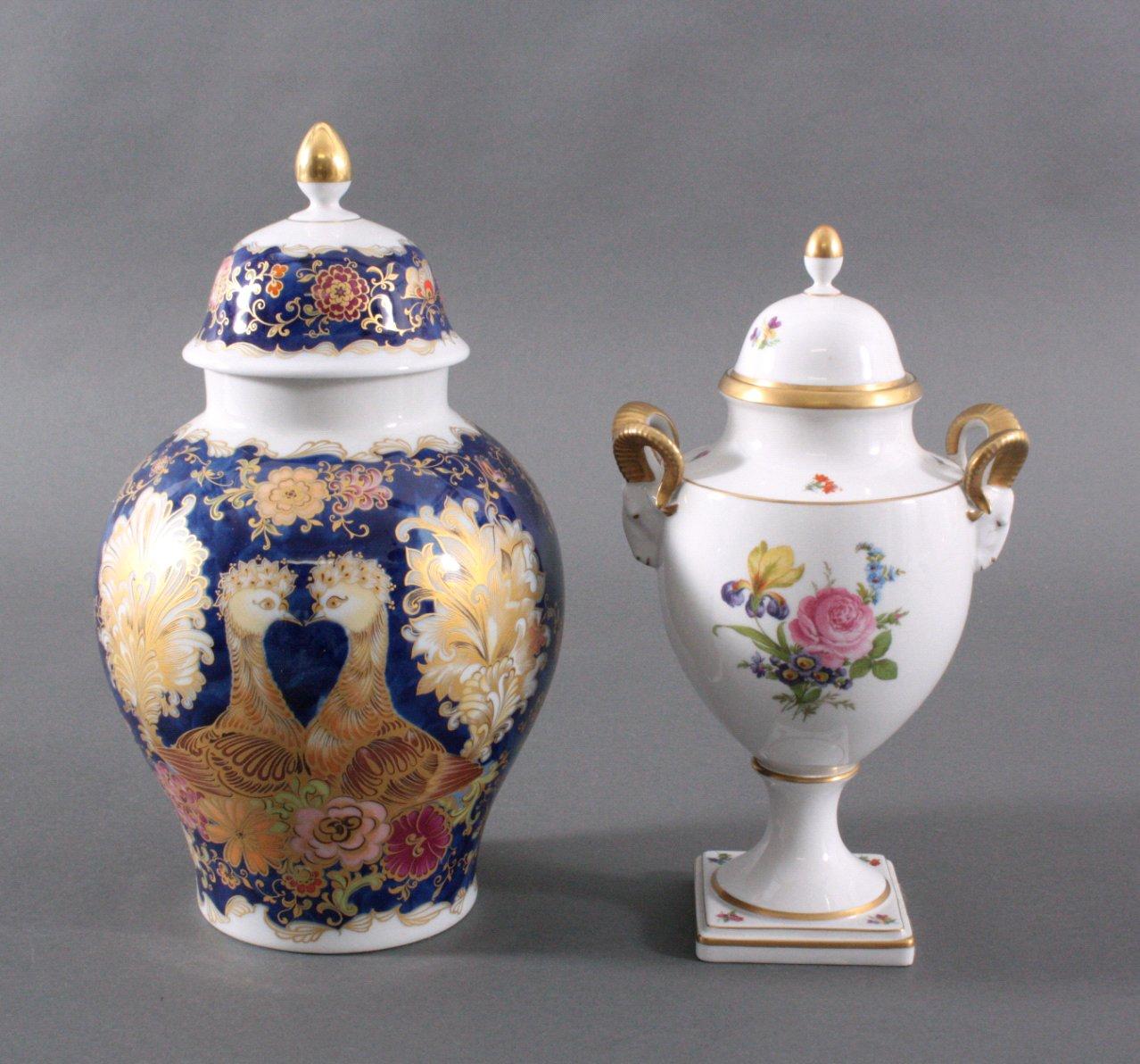 2 Vasen, Kaiser-Porzellan