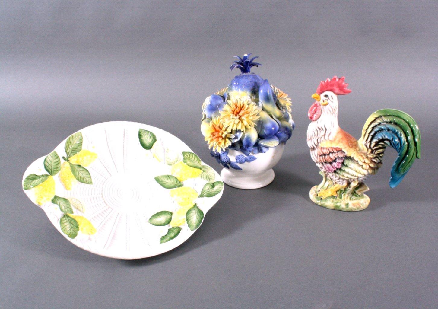 Lot Porzellan und Keramik