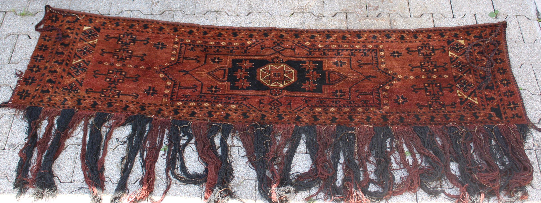 Kelim, Eingangsschmuck für die Jurte, antik um 1900