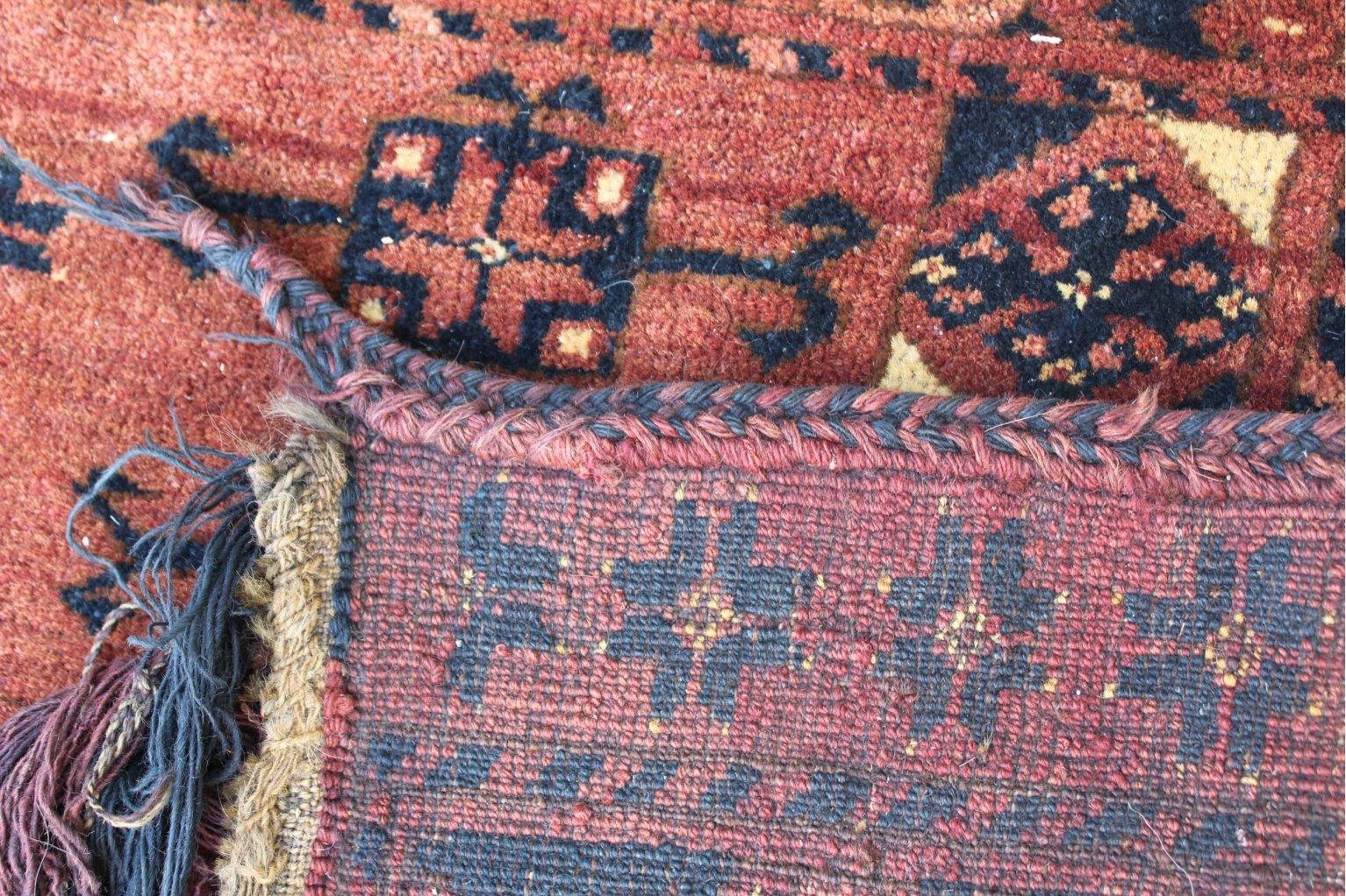Kelim, Eingangsschmuck für die Jurte, antik um 1900-1