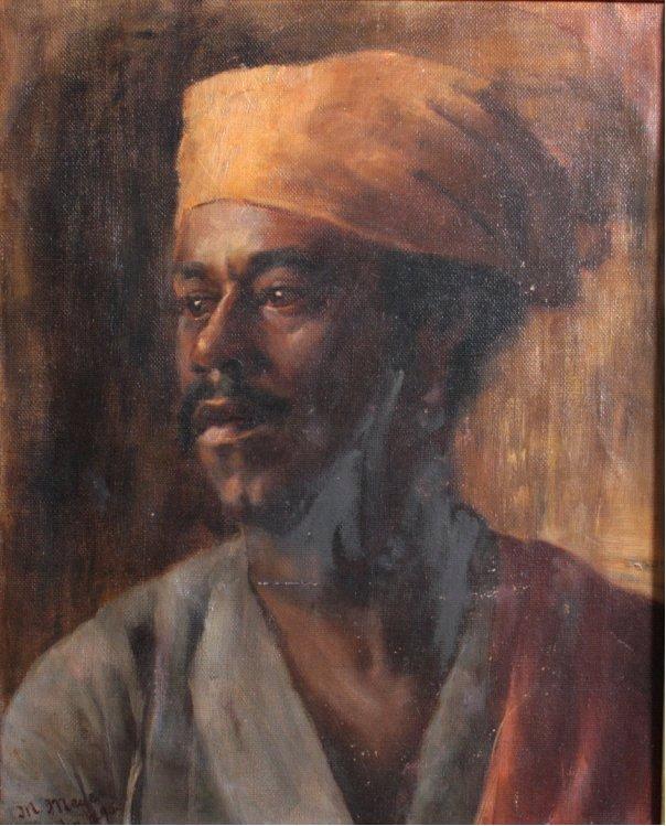 Marcus Mayer ?-?, Portraitmaler des 19. Jh.