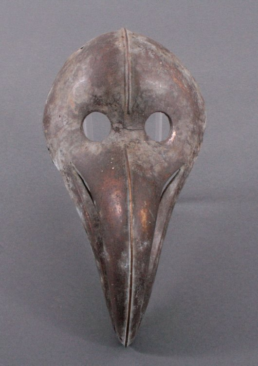 Bronzemaske, Benin 1. Hälfte 20. Jahrhundert
