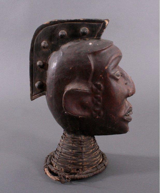 Tanzaufsatz der Ekoi, Nigeria 1. Hälfte 20. Jh.-1