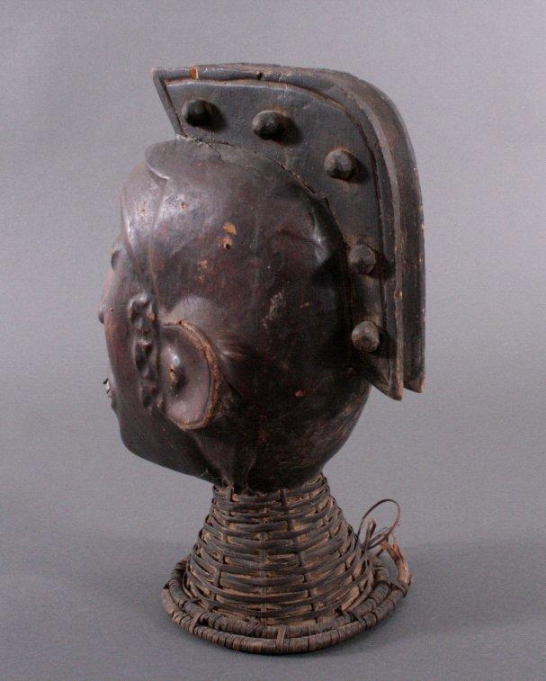 Tanzaufsatz der Ekoi, Nigeria 1. Hälfte 20. Jh.-2