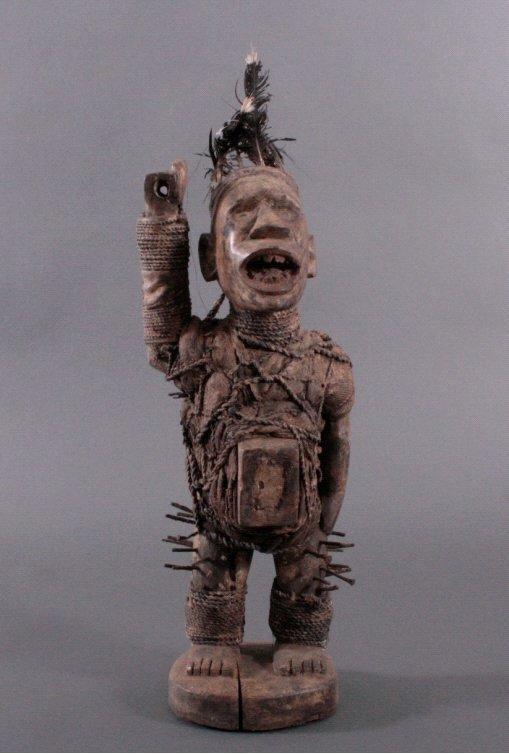 Nagelfetisch, Yombe/Kongo 1. Hälfte 20. Jh.