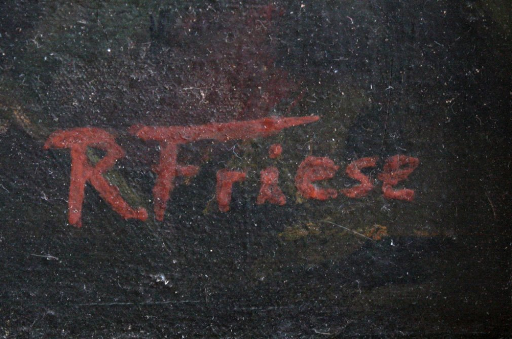 Richard Friese. Tiger mit erlegtem Affen-2