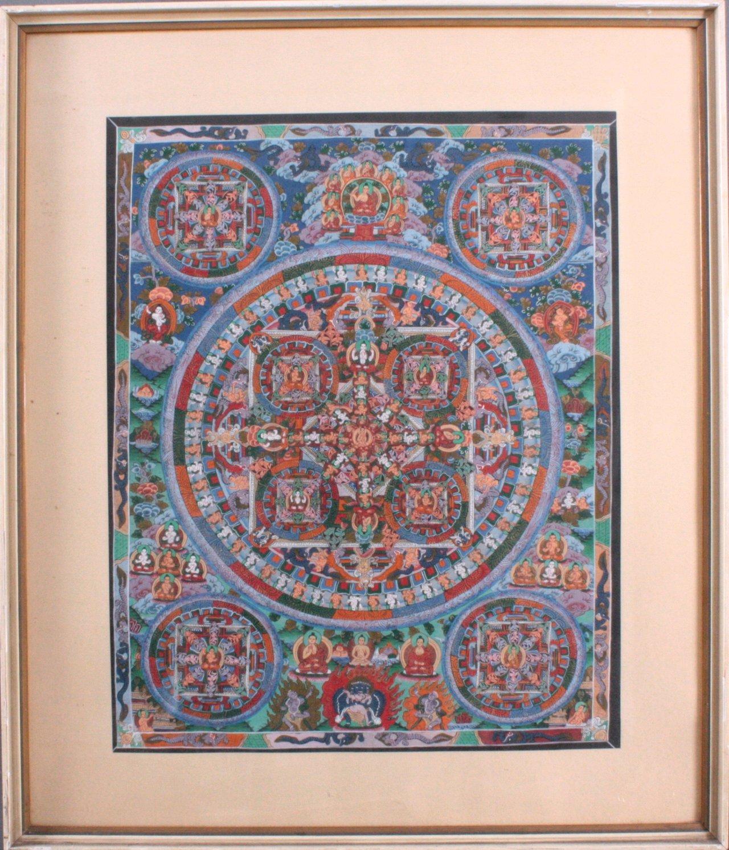 Thangka, Tibet um 1900