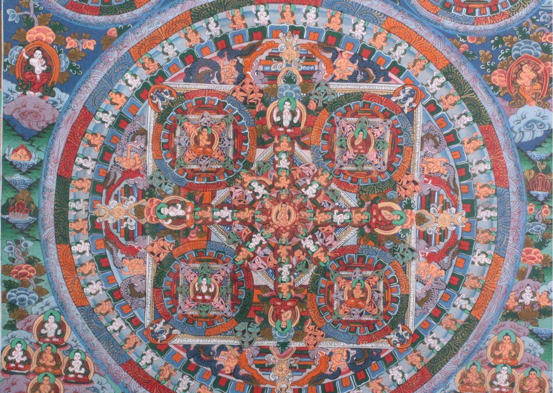 Thangka, Tibet um 1900-1