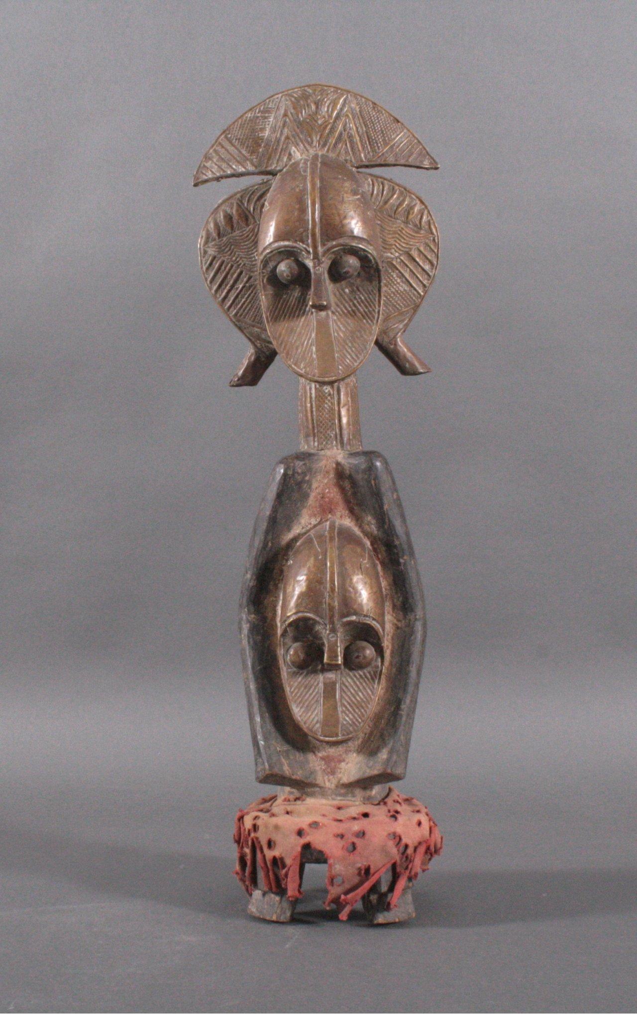 Große Reliquiarfigur, Kota/Kongo,1. Hälfte 20. Jh.