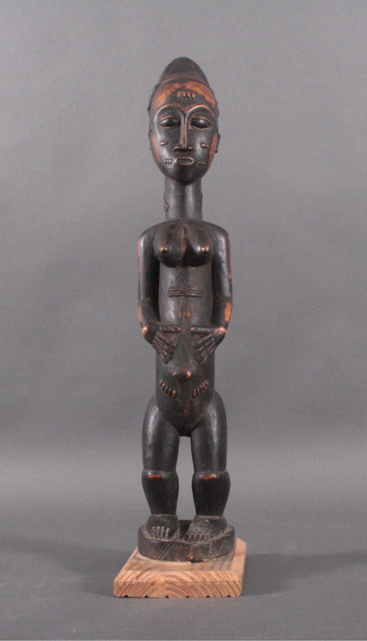 Figur der Baule, Elfenbeinküste 1. Hälfte 20. Jh.