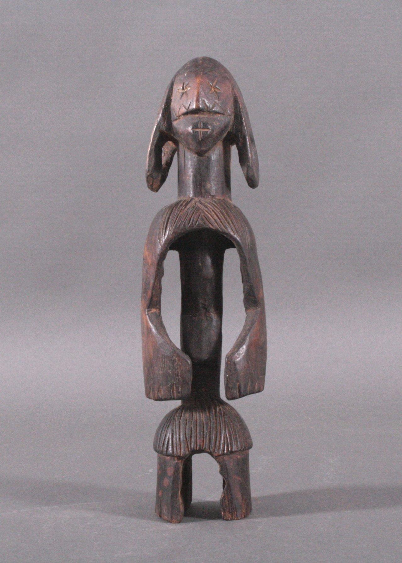 Kleine Figur der Mumuye, Nigeria, 1. Hälfte 20. Jh.