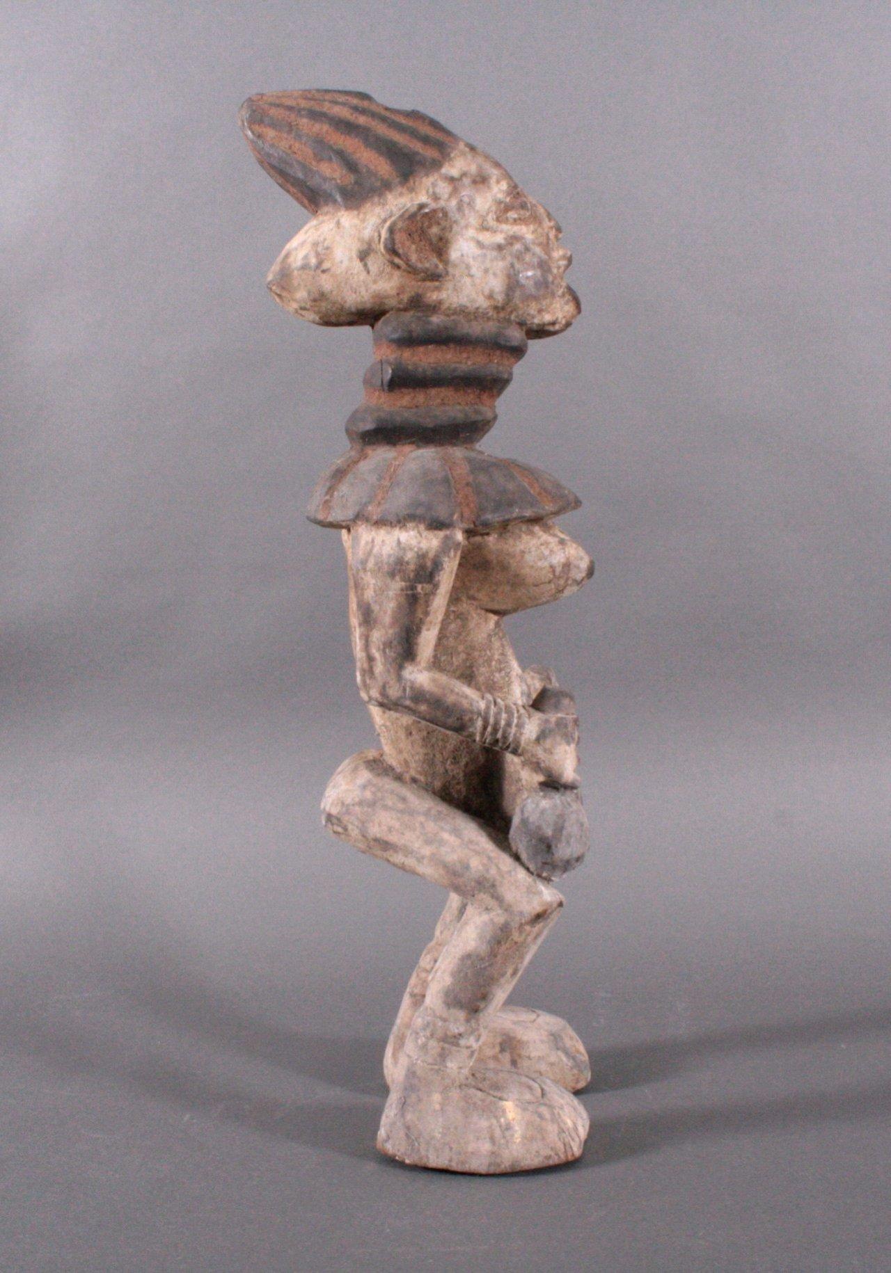 Große Ibeji Figur, Nigeria 1. Hälfte 20. Jh.-2