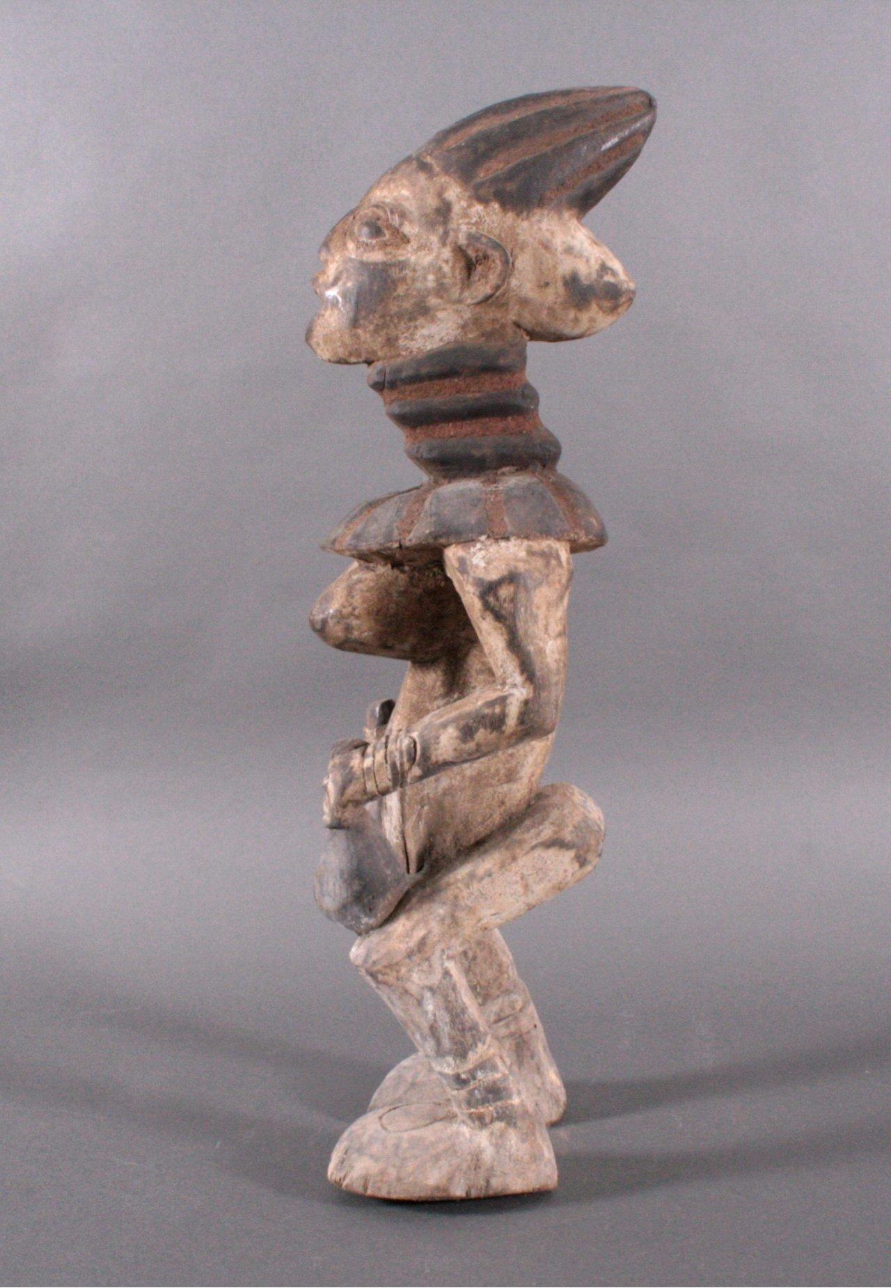Große Ibeji Figur, Nigeria 1. Hälfte 20. Jh.-3
