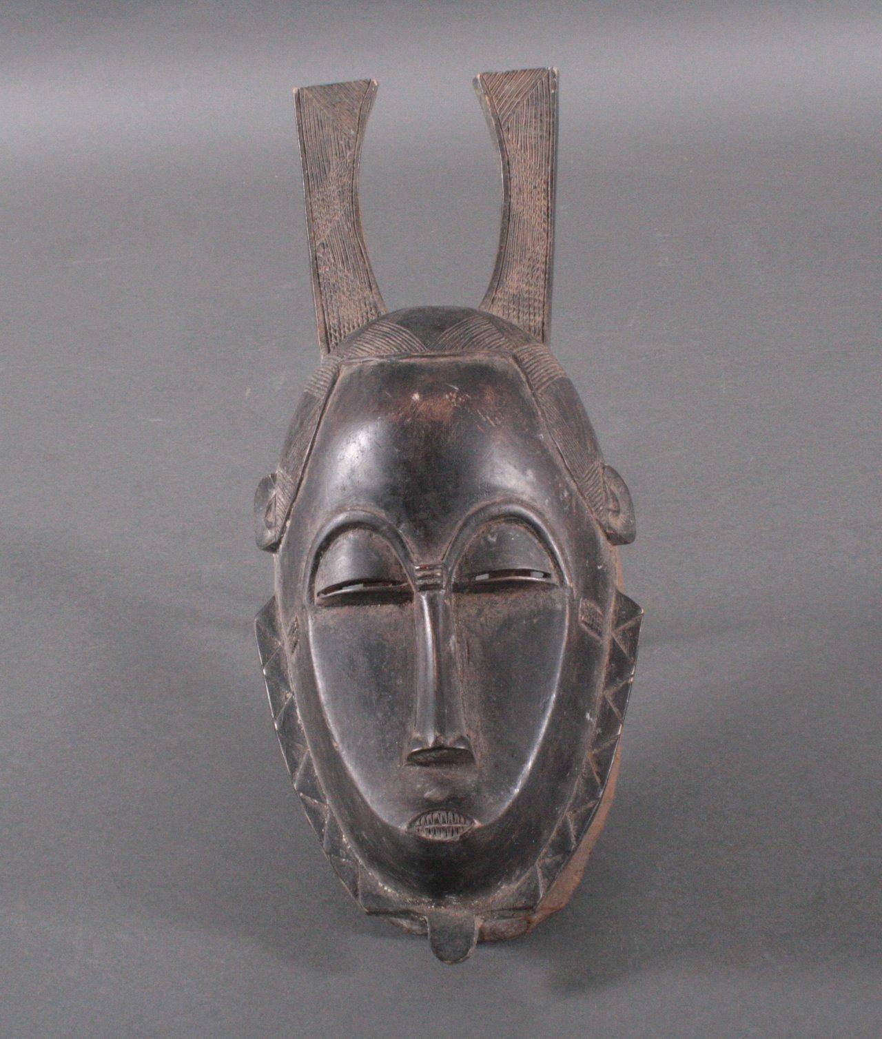 Holzmaske, Afrika 1. Hälfte 20. Jh.