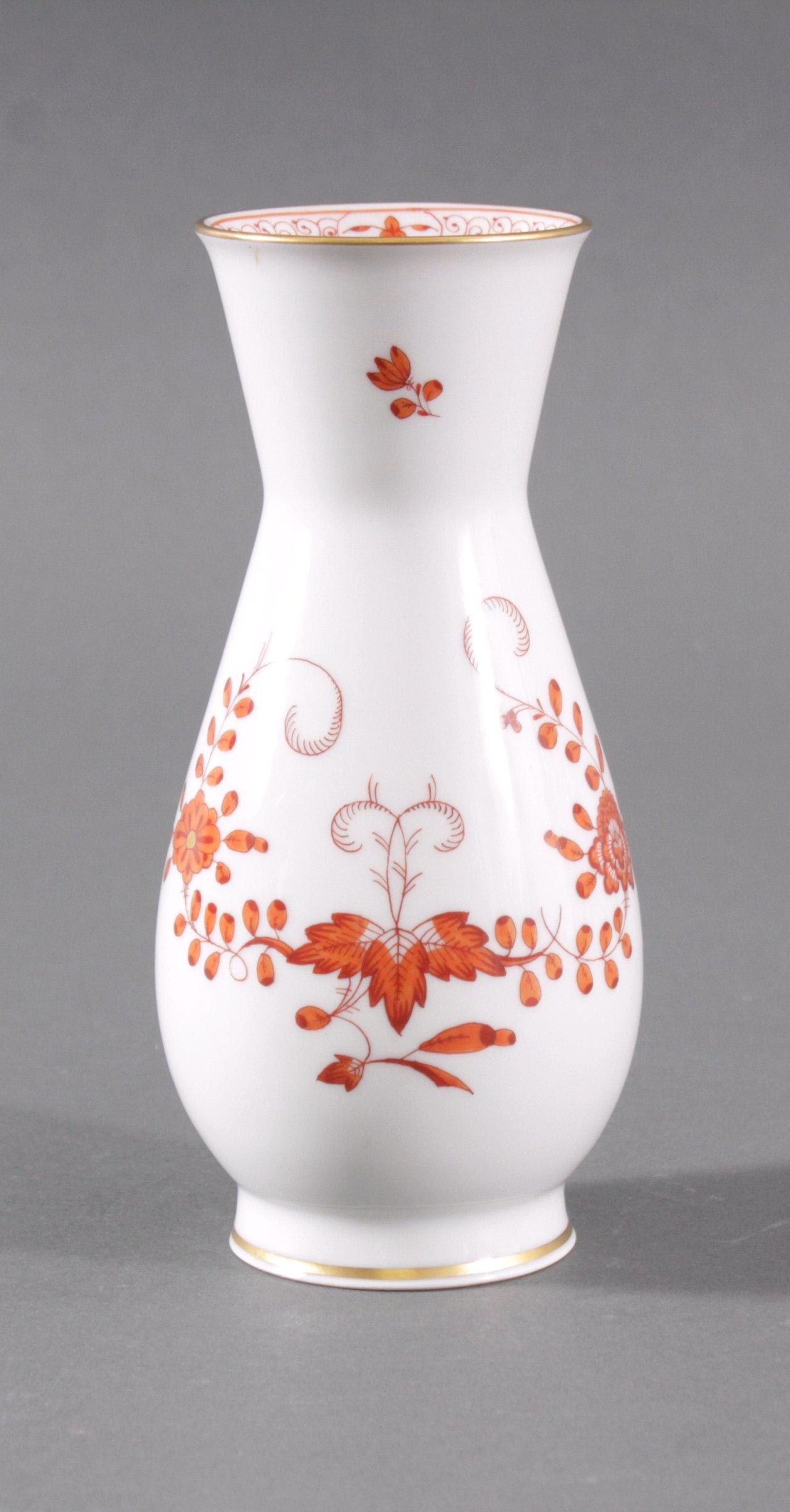 Kleine Meissen-Vase, 1. Wahl
