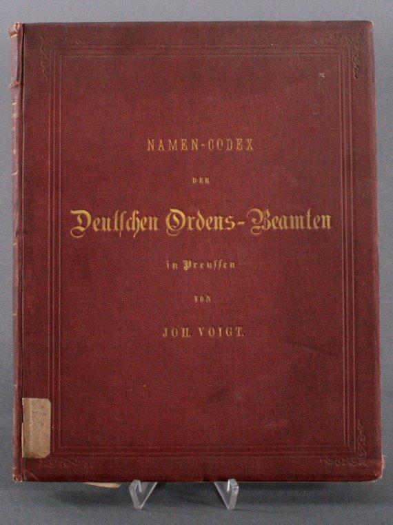 Namen-Codex der deutschen Ordens-Beamten, 1843