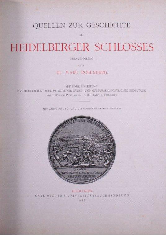 Quellen zur Geschichte des Heidelberger Schlosses-1