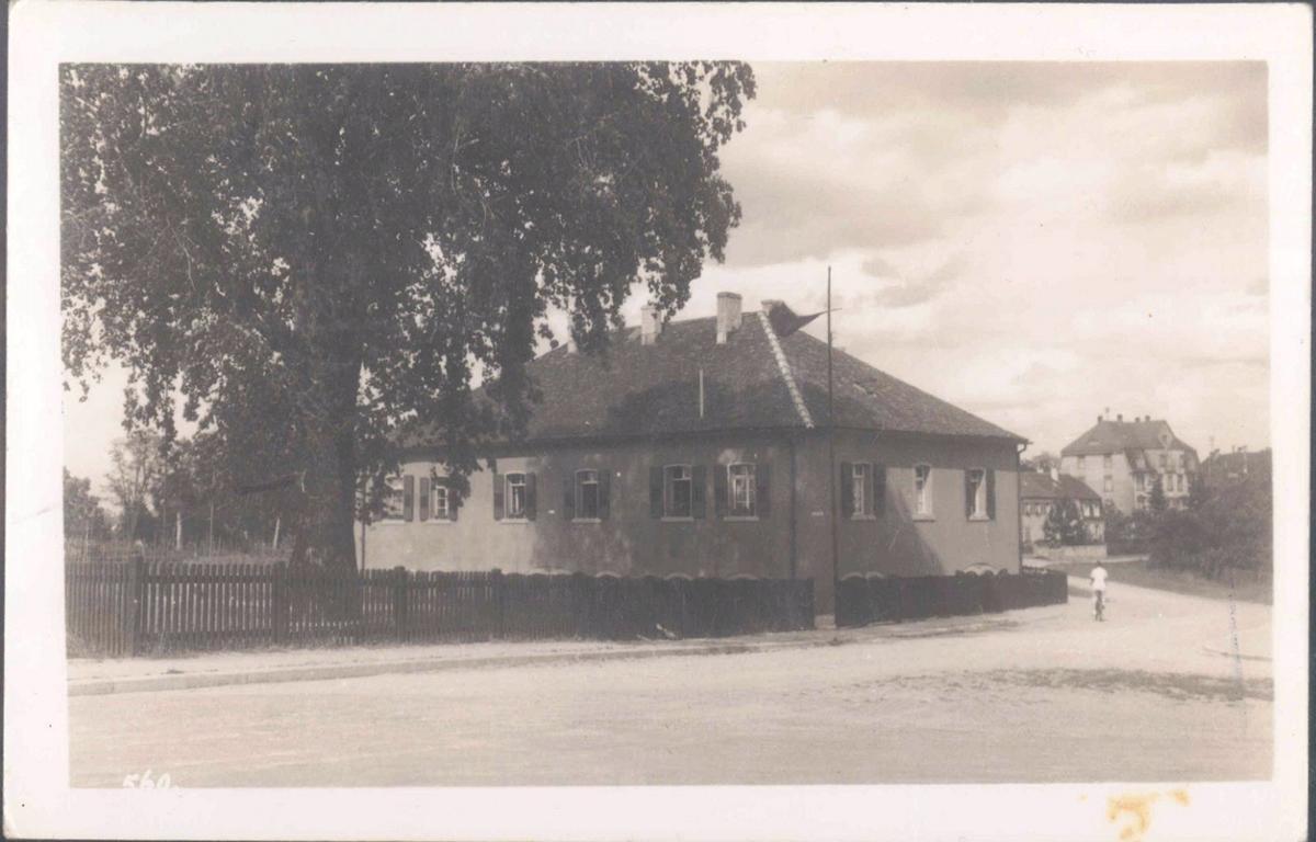 III. REICH, seltene Fotopostkarte R.A.D. LAGER RASTATT