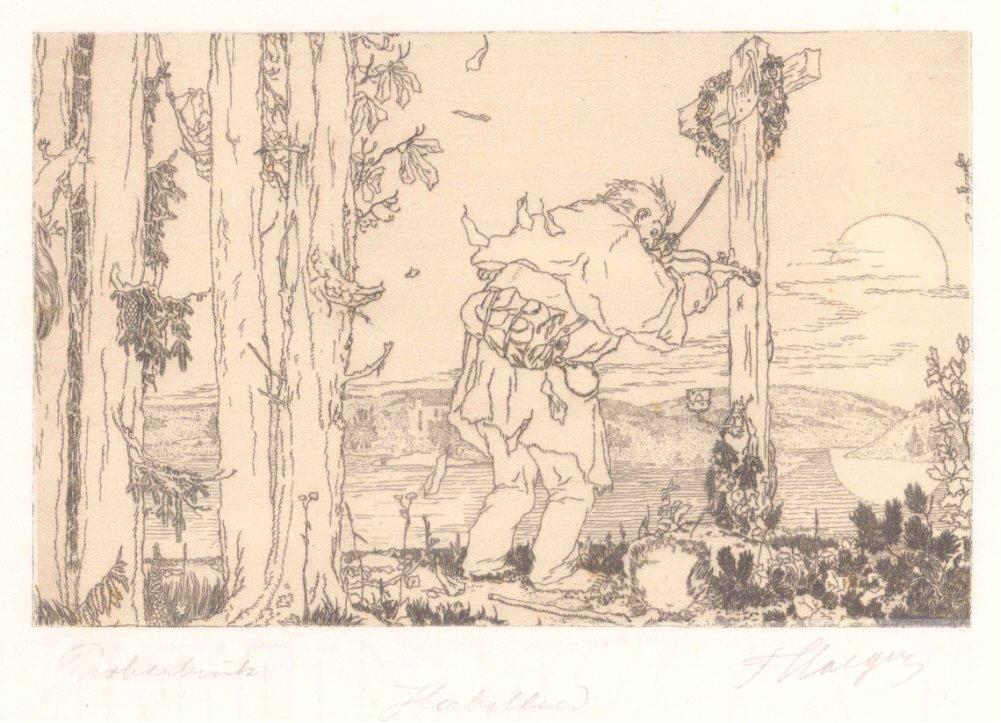 Ferdinand Staeger (1880 Trebitsch – Kraiburg 1976)-1