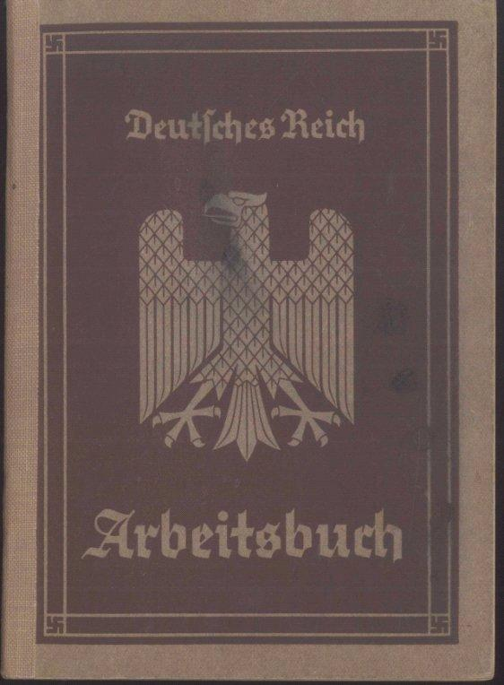 1935 III.REICH – ARBEITSBUCH Nr 183 Ki/2244 Heimat Kreuznach
