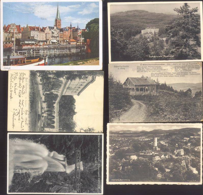 DEUTSCHES REICH Ansichtskarten Topografie