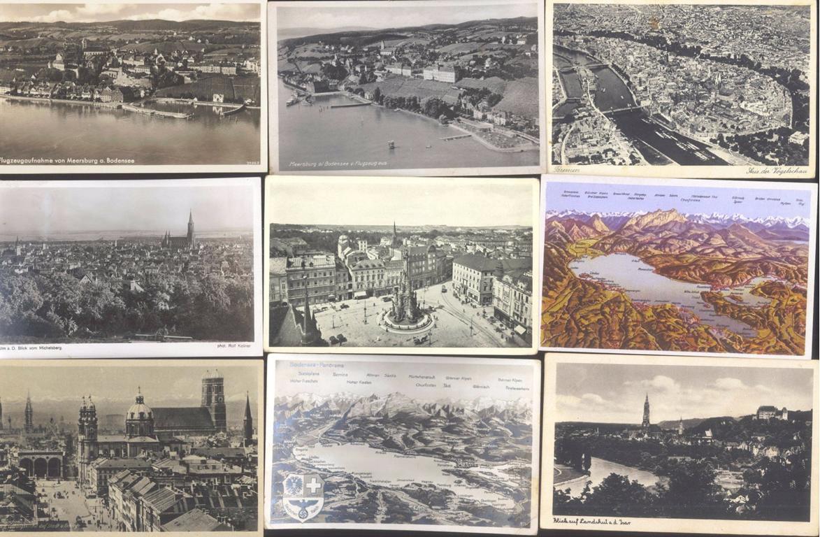 DEUTSCHES REICH Ansichtskarten Topografie-2