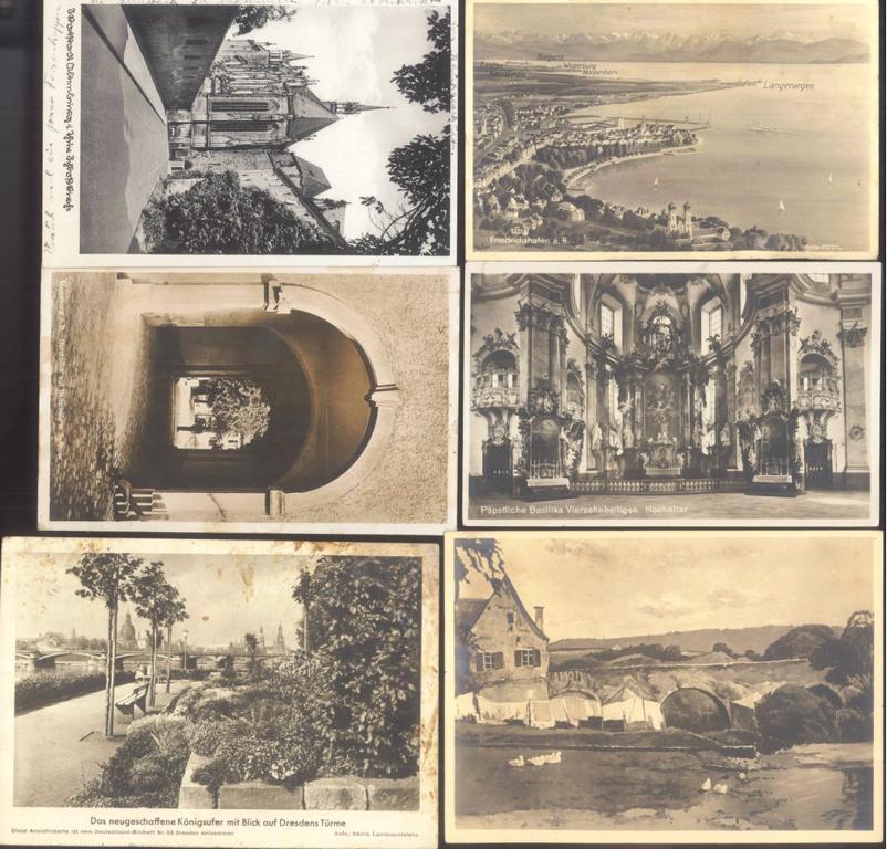 DEUTSCHES REICH Ansichtskarten Topografie-3
