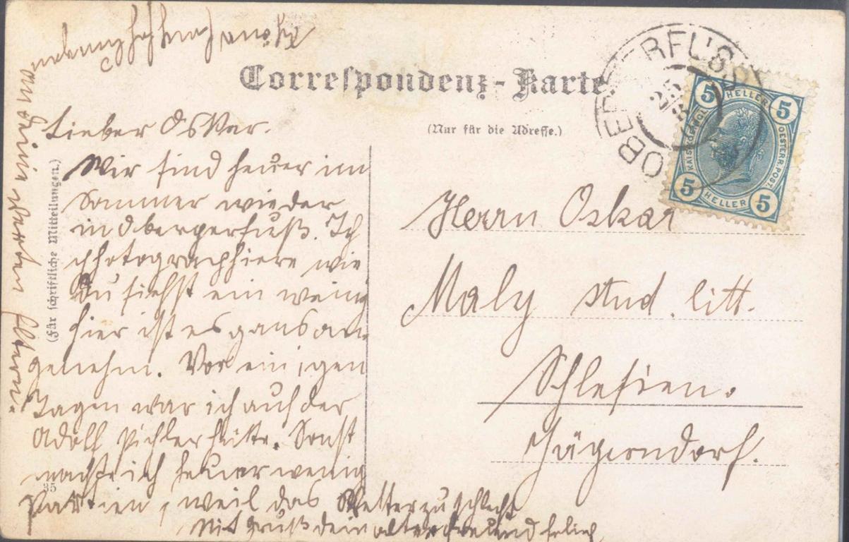 ÖSTERREICH, OBERPERFUSS 1906, TIROL, seltene…-1