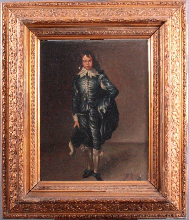 The Blue Boy, 18. Jh.. Nach Thomas Gainsborough (1727-1788)