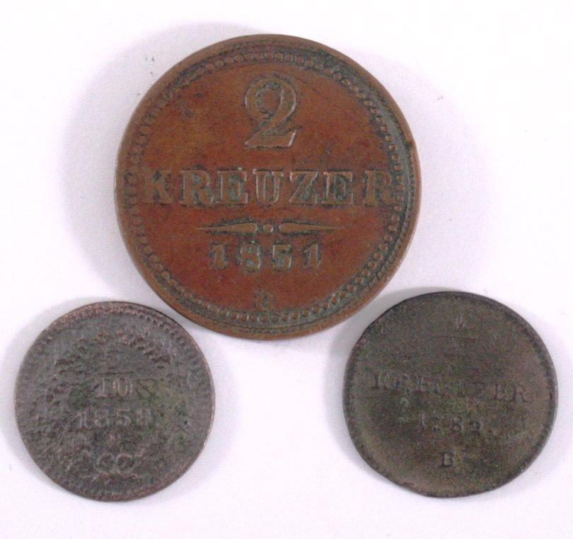 3 Österreichische Münzen