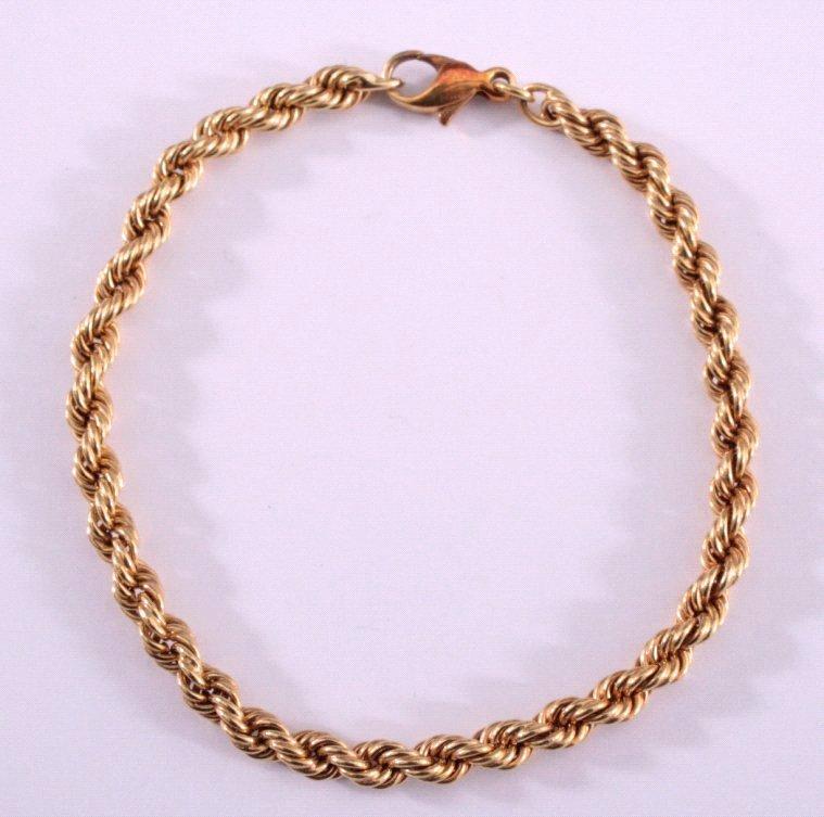 Armband, 585/000 GG