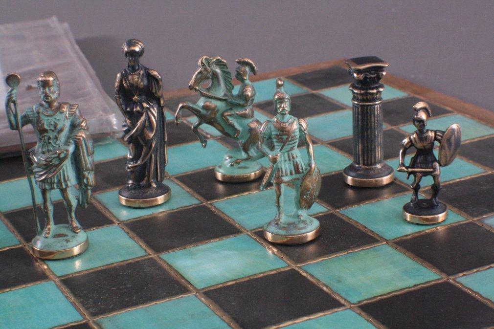 Schach- Dame- Muhle Brettspiel-1