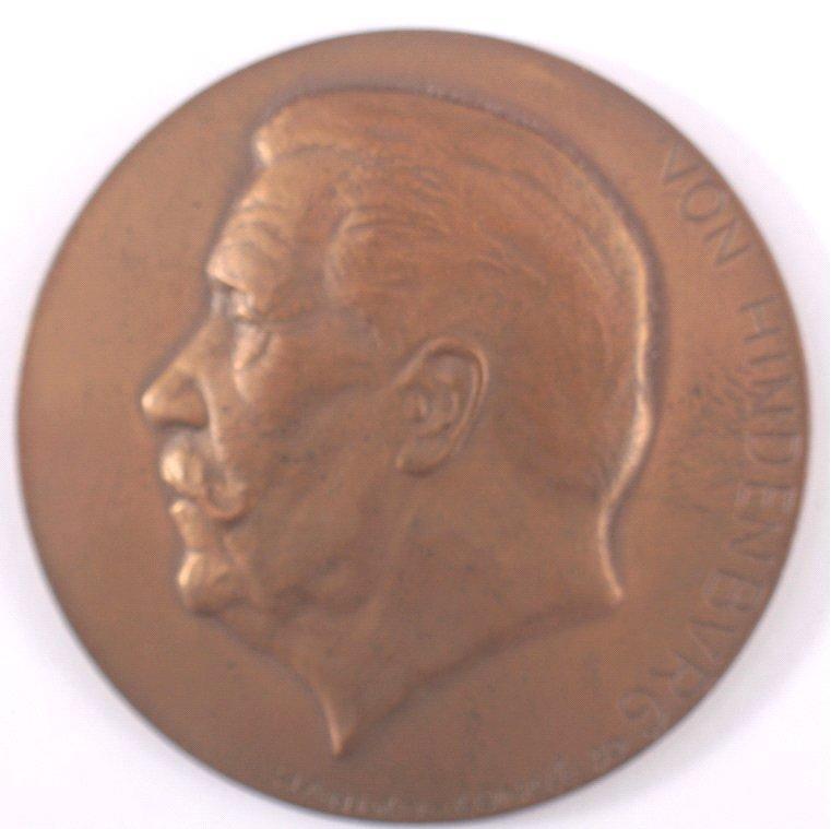 Medaille 1930 von Hindenburg, ss