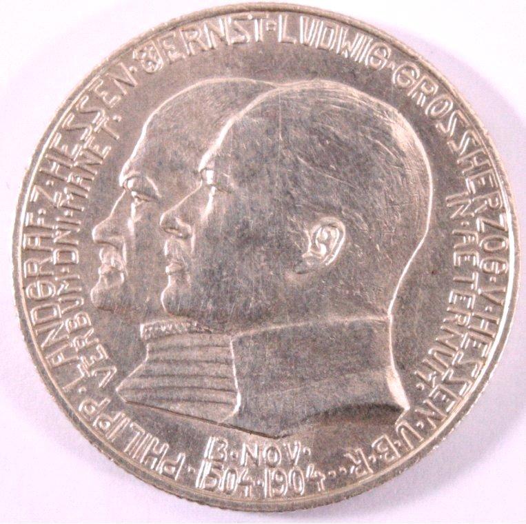 2 Mark Hessen 1904 Zum 400. Geburtstag