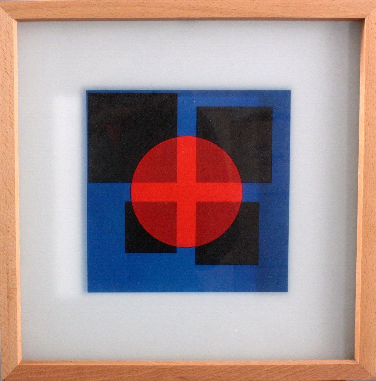 "Herbert Bayer (1900 – 1985), ""Red Transparency"""