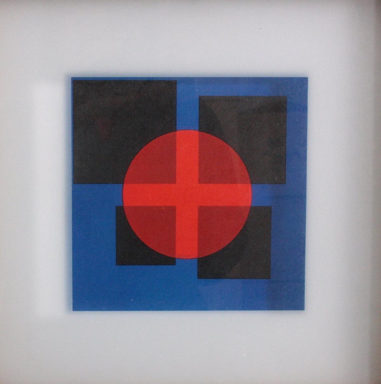 "Herbert Bayer (1900 – 1985), ""Red Transparency""-1"