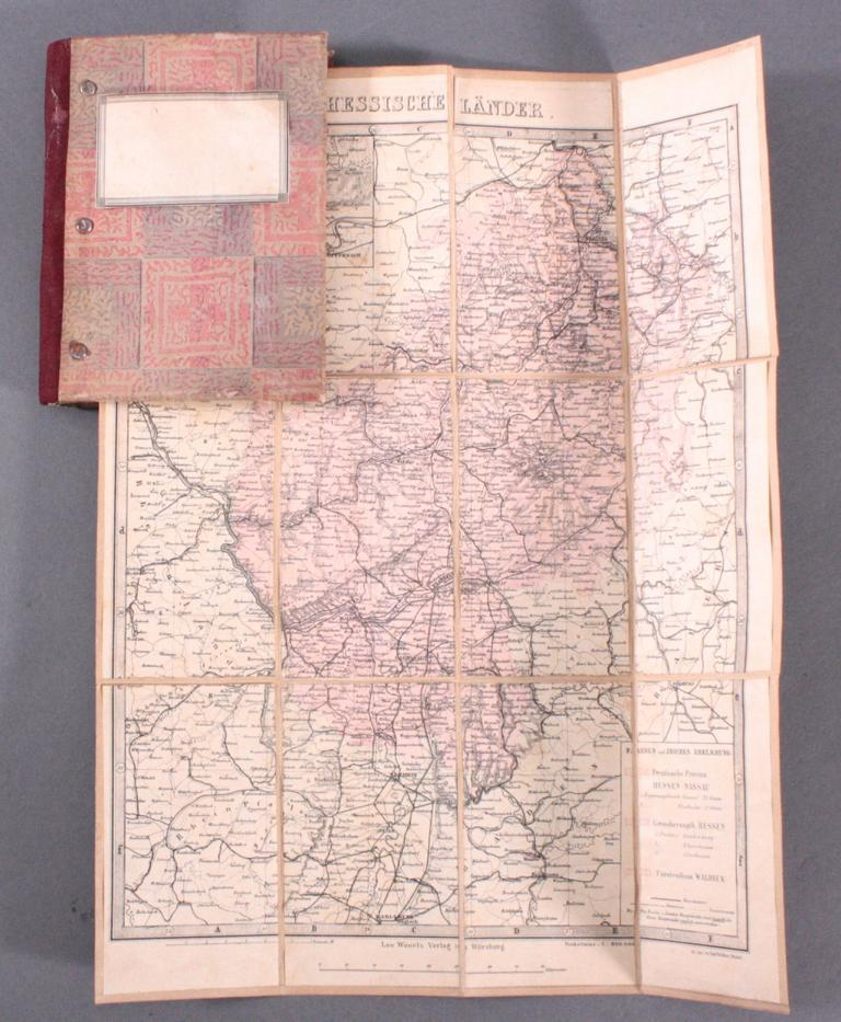 Landkarte aus dem 19. Jh.-1