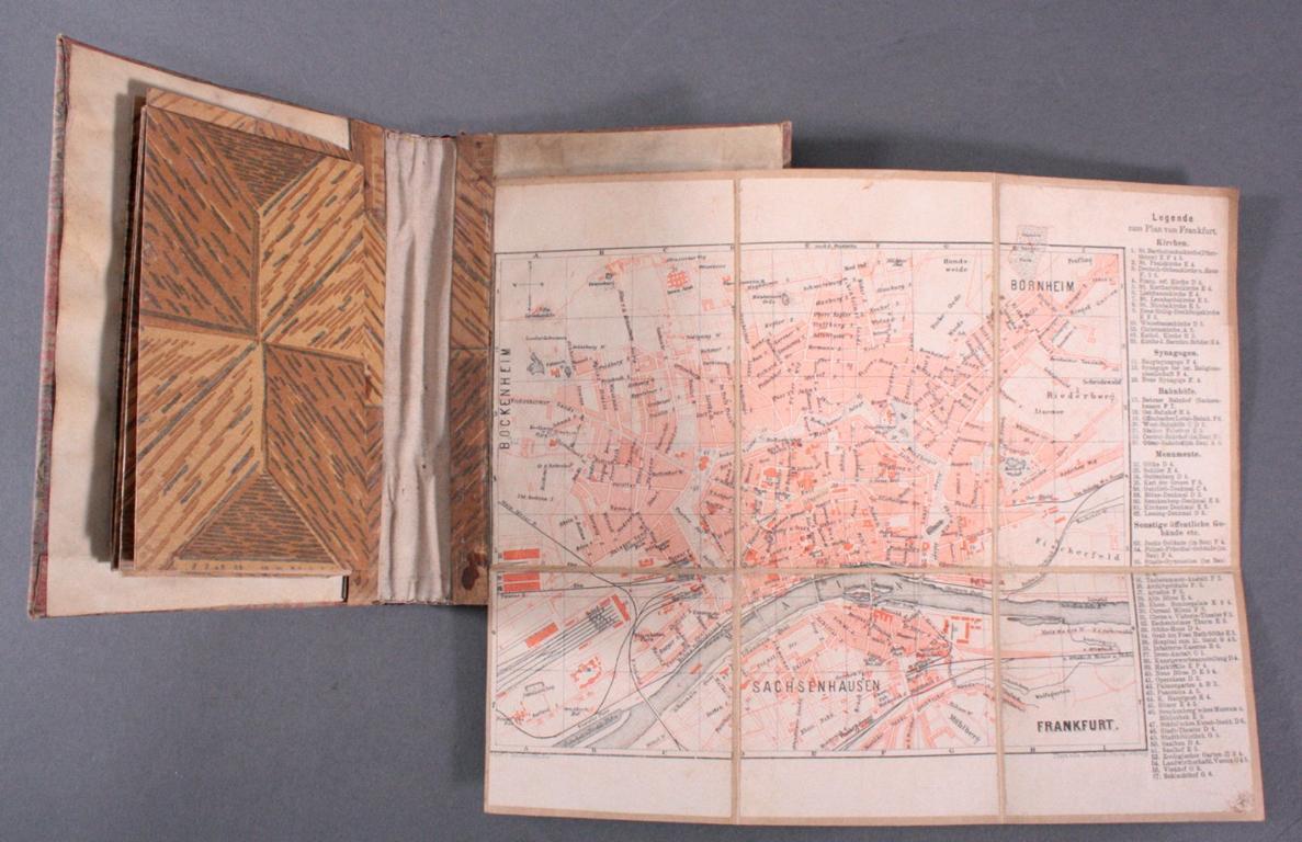 Landkarte aus dem 19. Jh.-2