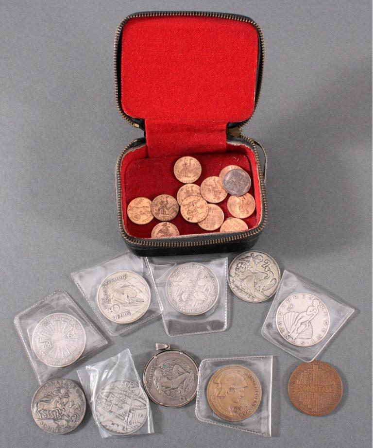 Konvolut Jahresregent Medaillen