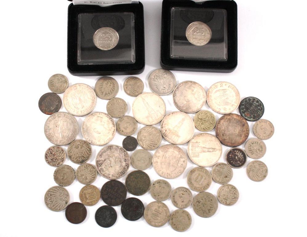 Münzen Deutsches Reich / Kaiserreich