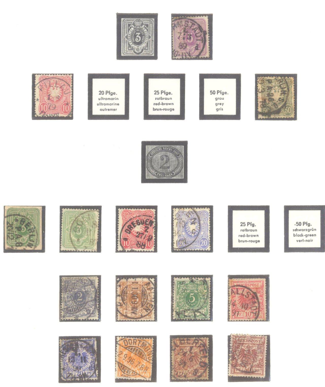DEUTSCHES REICH – KAISERREICH 1872-1915-2