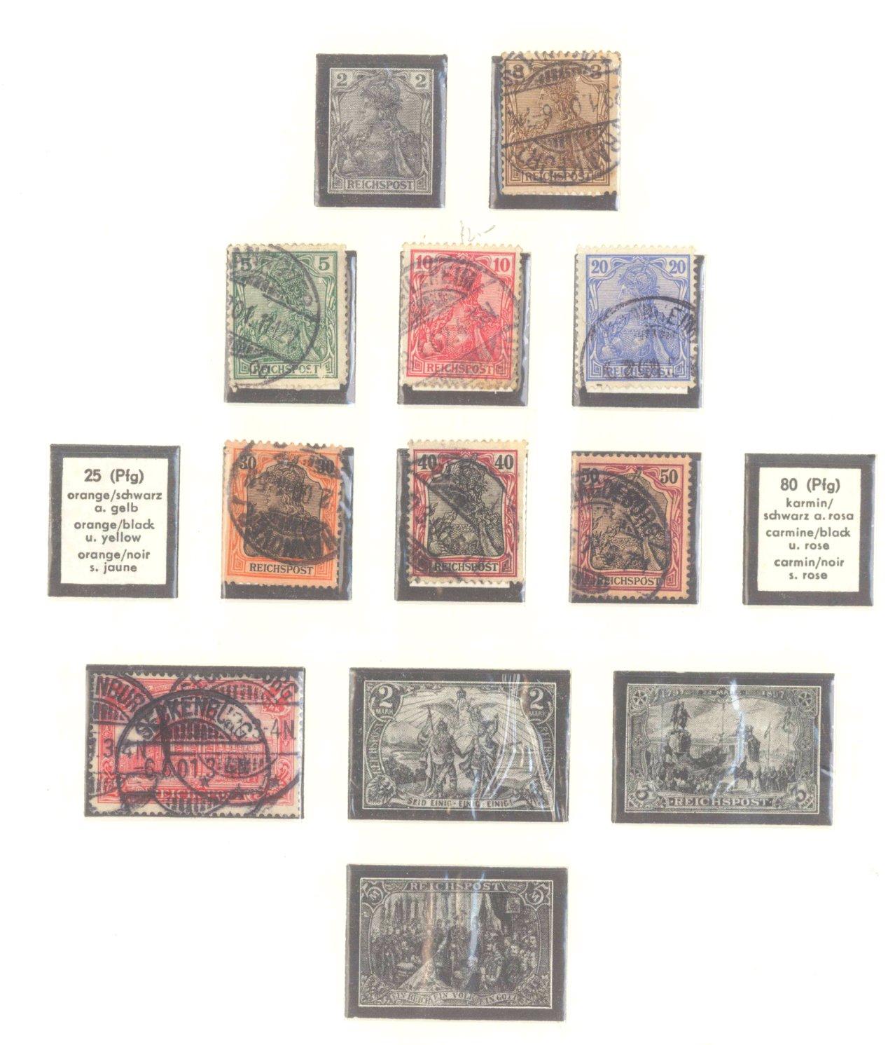 DEUTSCHES REICH – KAISERREICH 1872-1915-3
